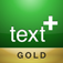 textPlus Gold Free Texting plus Free Messenger plus Phone Number app icon